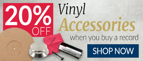 20% Vinyl Accessories When You Buy a Record