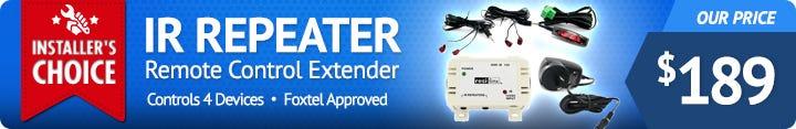 Foxtel Approved Resi-Linx Remote Control Extender System RLIR100