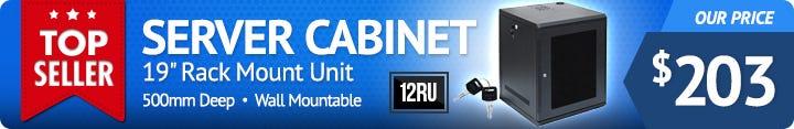 12RU 19-Inch Server Rack Cabinet WC12U