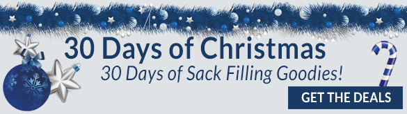 30 Days of Christmas! - 30 Days of Sack Filling Goodies!