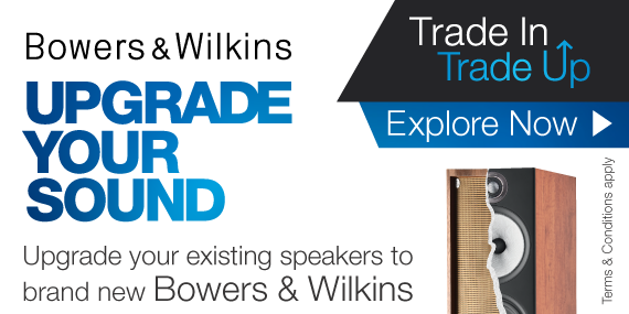 Upgrade Your Sound! Trade In Your Old Speakers for 10% Off B&W!