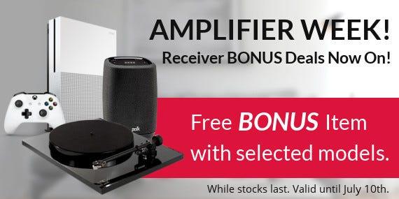 Receiver BONUS Deals Now On!