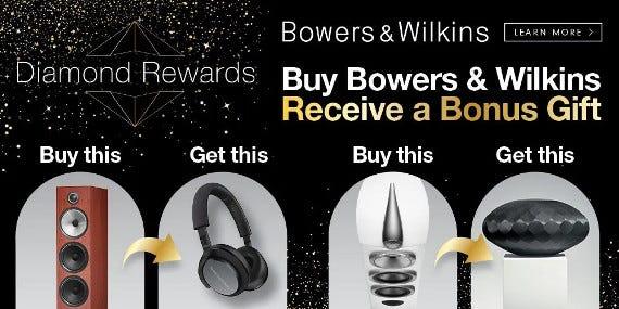 Bowers and Wilkins Bonus Gift Diamond Promotion