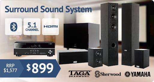 5.1 Surround Sound Package