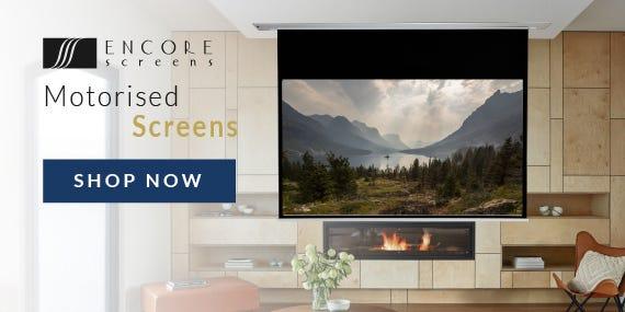 Encore Screens - Introducing New Range of Motorised Projector Screens!