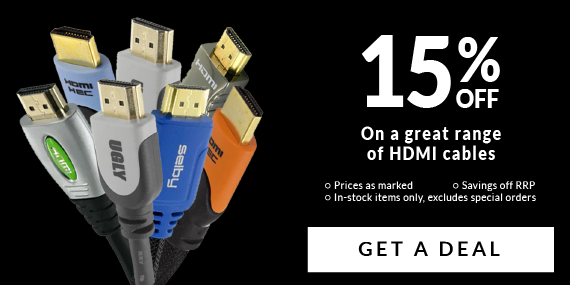 15% Off A Great Range of HDMI Cables!