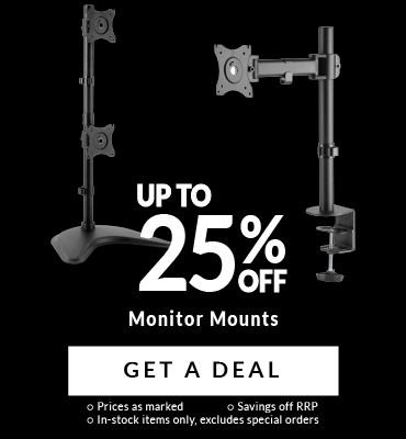 Up To 25% Off Monitor Mounts!