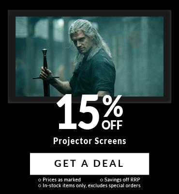 15% Off Projector Screens!