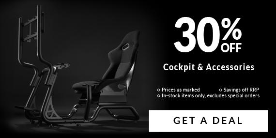 30% Off Sim Racing!