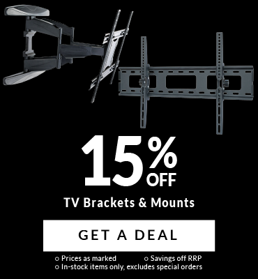 Up To 15% Off TV Brackets!