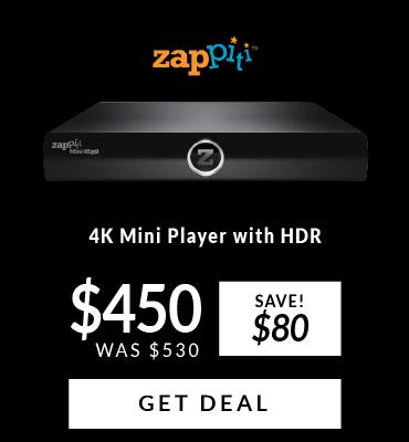 Zappiti 4K Mini Player With HDR