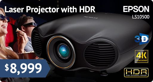 4K Enhancement Laser Projector