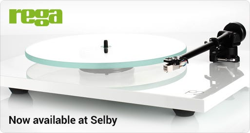 Rega Turntables and accessories now at Selby