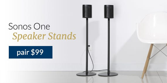 Floor Stands For Sonos One, One SL & Play:1