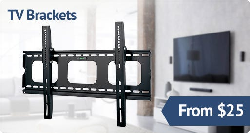 TV Brackets from $25