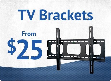 TV Wall Brackets from $25