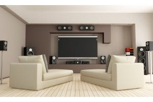 living room home theatre