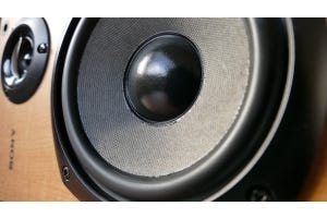 Speaker Close-up