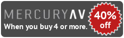 Mercury AV 40% Off