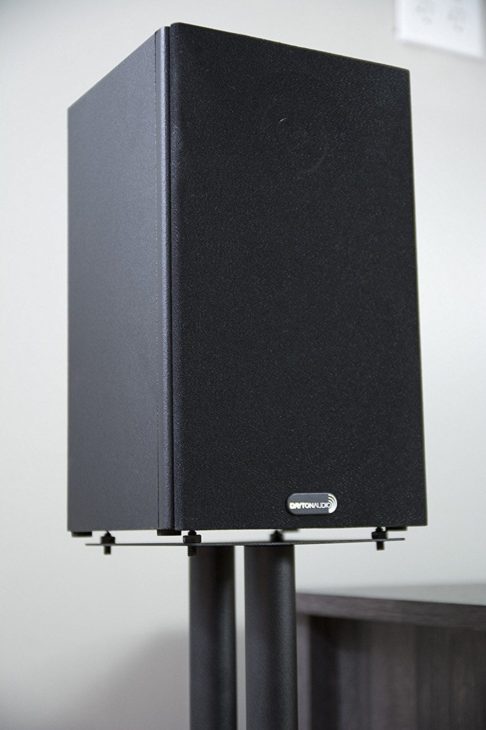 Supported By 2 Steel Pillars These Stands Are Sturdy While Maintaining A Low Profile