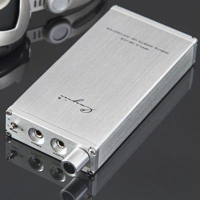 Cayin C6 Portable Headphone Amplifier & USB DAC Silver