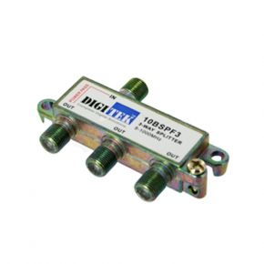 Digitek 3-Way F-Type TV Antenna Aerial Splitter 5-1000MHz 10BSPF3