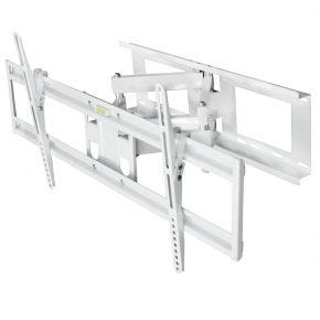 "42-70"" inch 45kg Full Motion Tilt Swivel TV Wall Bracket White FMWB115LW"