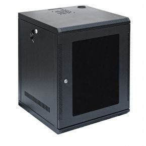 12U 19 Inch Wall Mount Rack Cabinet for Networking and Comms 500mm Deep WC12U