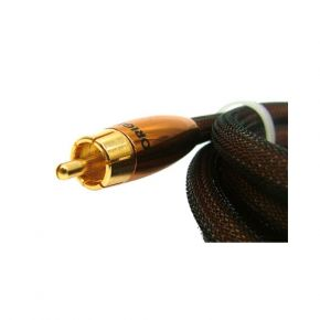 75cm Neotech Origin 7mm Thick Subwoofer Cable RCA Sub Lead ORI7000