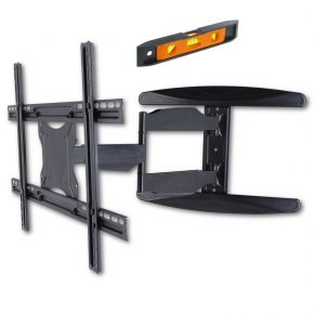 "40-65"" Ultra Slim Full Motion Single Arm XL TV Wall Mount Bracket Max 30kgs PLB171LLW"