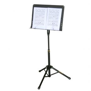 Hercules Sheet Music Stand EZ Lever & Transformer Base BS408B