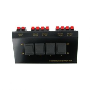 4-Way Speaker Switch 100W A1005