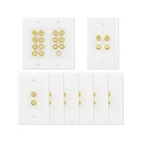 Wall Plate Pack for 7.1 Speakers A107SPK