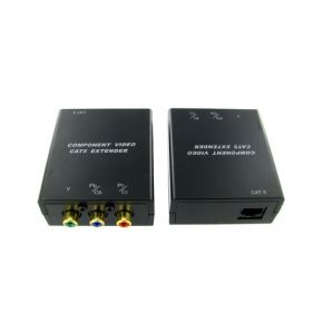 Component Video Extender Kit System via Cat5e/Cat6 Network Cable A1219X2