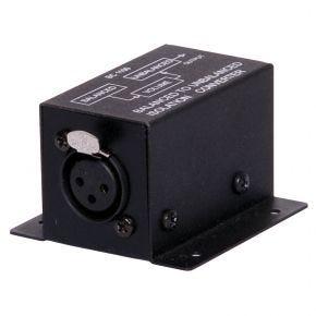 Balanced to Unbalanced Audio Converter Isolator XLR Female - 2 RCA A2513