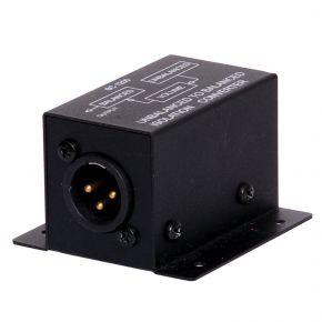 Unbalanced to Balanced Audio Converter Isolator Stereo 2 RCA - XLR Male Mono A2514