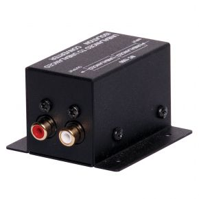 Unbalanced Stereo Line Audio Isolation Transformer 2 RCA - 2 RCA Isolator A2517