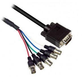 30cm Avico VGA Plug to 5 BNC RGBHV Female Sockets Link Cable CC20