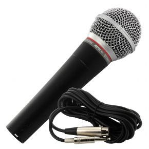 Avico DM-58 Professional Vocal or Instrument Stage Microphone w/ Case & Cable DM58