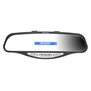 SeeCode Rearview Mirror Bluetooth Hands-free Mobile Phone Receiver SCV001