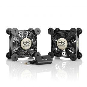 AC Infinity Multifan S5 Spot Cooler 2 x 80 mm