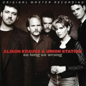Alison Krauss - So Long So Wrong MoFi 2LP 180g Limited Numbered
