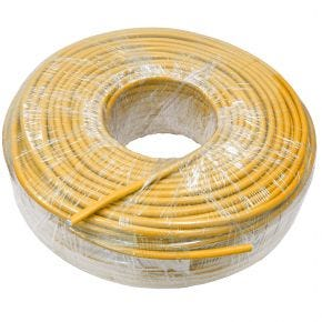 100m Yellow CAT6 Cable RCM Certified SFTP Telecom Network Data Ethernet LAN ASPL9850Y100m