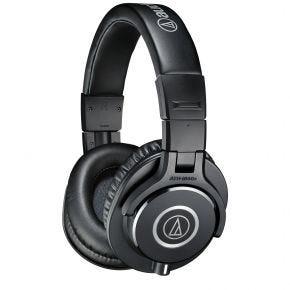 Audio-Technica ATH-M40x Black Over-Ear Headphones