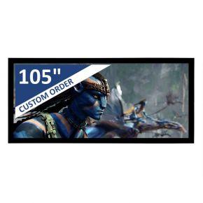 "Encore 105"" 2.35:1 CineAcoustiq 4K Fixed Screen"