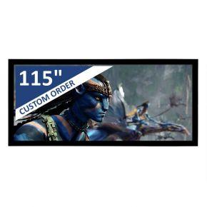 "Encore 115"" 2.35:1 CineAcoustiq 4K Fixed Screen"