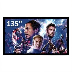 "Encore 135"" 16:9 CineAcoustiq 4K Fixed Screen"