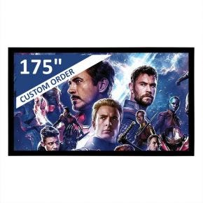 "Encore 175"" 16:9 CineAcoustiq 4K Fixed Screen"