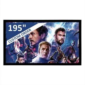 "Encore 195"" 16:9 CineAcoustiq 4K Fixed Screen"