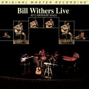 Bill Withers - Live At Carnegie Hall MoFi 2LP 180g Limited Numbered